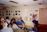 images/Galleries/bobleach/1-bob leach begins storytelling-3-19-05-frank hague slide show  photographic exhibition.jpg