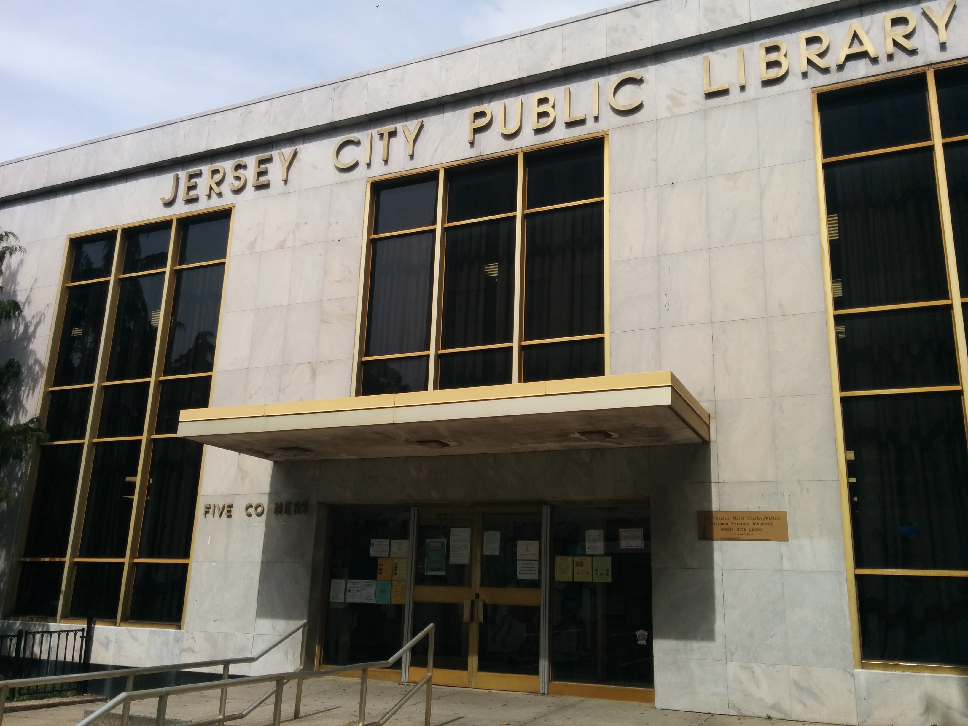 Five Corners Branch Jersey City Free Public Library